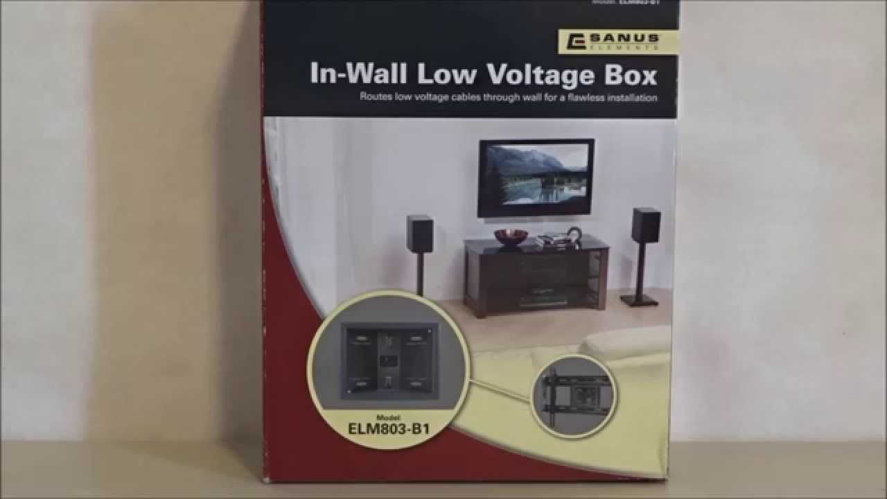 In Wall Low Voltage wire hide kit by Sanus review - YouTube