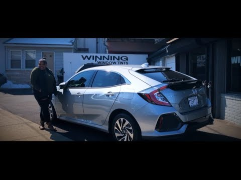 NEW 2019 Honda Civic LX Hatchback - 20% Window Tints