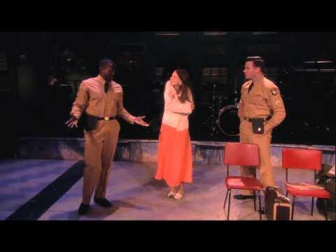 Cast of Violet Broadway