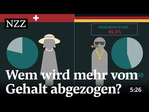 Der Grosse Lohnsteuercheck: Wem Wird Mehr Vom Gehalt Abgezogen? Deutschen Oder Schweizern?
