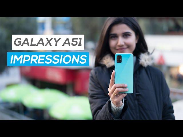 Samsung Galaxy A51 Impressions!