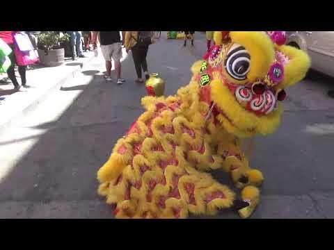 SF Chinatown Drunken Lion Dance + Parade 8/17/2019