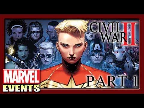 Civil War II [Part 1] จะเปลี่ยนหรือเชื่อในอนาคต ? สองทางเลือกสู่สงคราม!! [Marvel Events]