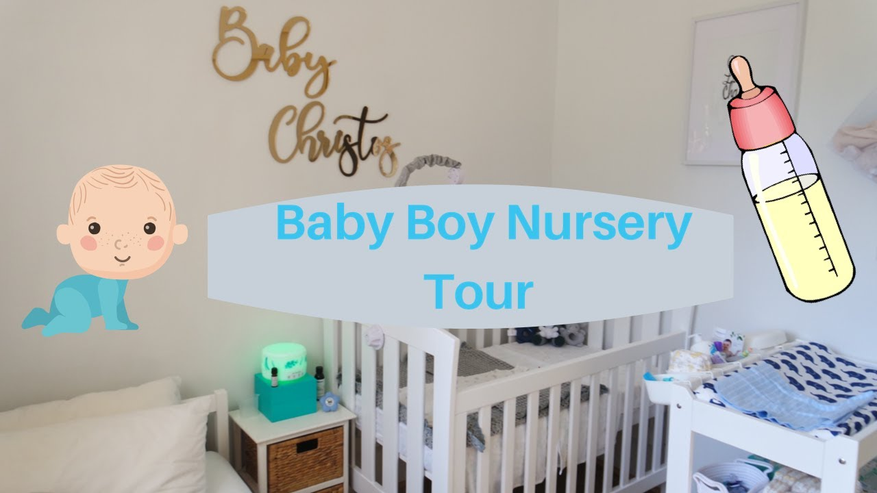 BABY BOY NURSERY TOUR || SABRINA AND DENNIS VLOG - YouTube