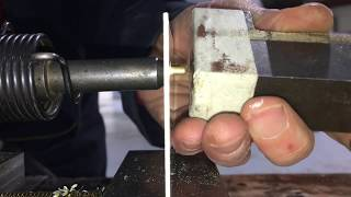 How to install soĮid aircraft rivets