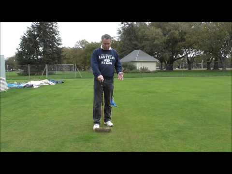 How to play a Stop shot Croquet