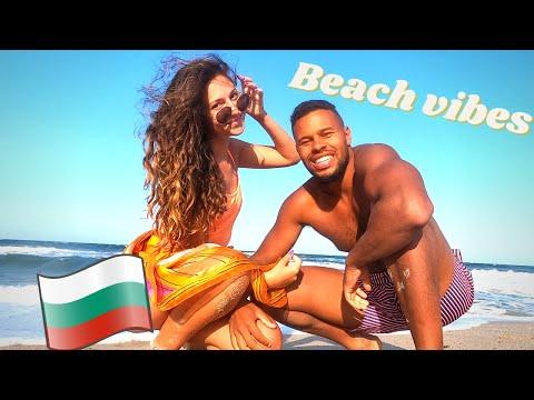 on hot beach girls bulgarian