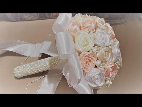 Свадебный букет своими руками✔ Marine DIY Guloyan✔