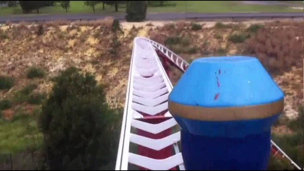 Roller Coaster Breaking at Worst Possible Place