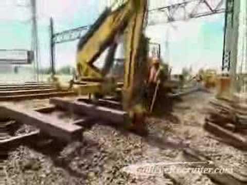 Rail Track Laying And Maintenance Equipment Operators