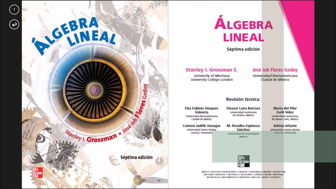 descargar libro de algebra lineal chungara pdf