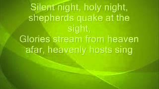 Temptations Silent Night with Lyrics