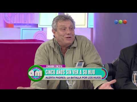 Eduardo Cuesta reclama ver a su hijo - AM 2015