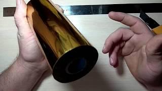 Обзор фольги для горячего тиснения, штамп без оборудования