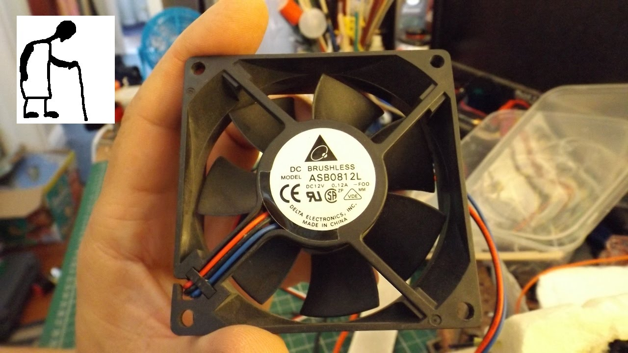 Can you control a 3 wire PC fan with an ESC?  YouTube