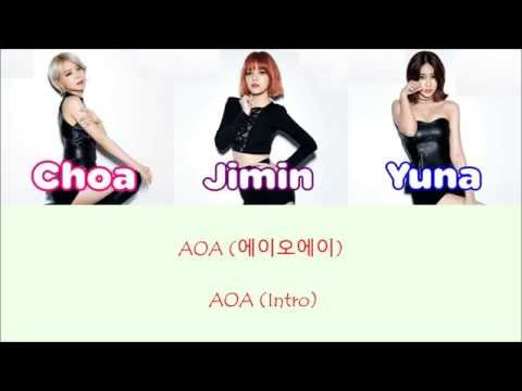 AOA - AOA (Intro) [Sub. Español + Hangul + Rom] Color & Picture Coded