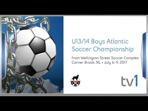 Nova Scotia vs New Brunswick U13 Atlantic Championships Gold Metal Match