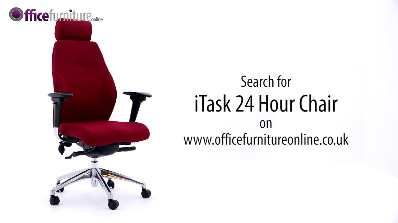 24 Hour Office Chairs Itask 24 Hour High Back Ergonomic Office Chair Features