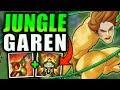 JUNGLE GAREN! BUFFED GAREN IS INSANELY OP! (UNKILLABLE WITH NEW W) - League of Legends