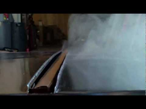 Effect of Magnetic Flux on  Fuel & Smoke