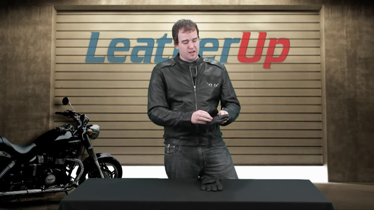 Insulated leather motorcycle gloves - Xelement Xg 852 Insulated Leather Deerskin Gauntlet Motorcycle Gloves At Leatherup