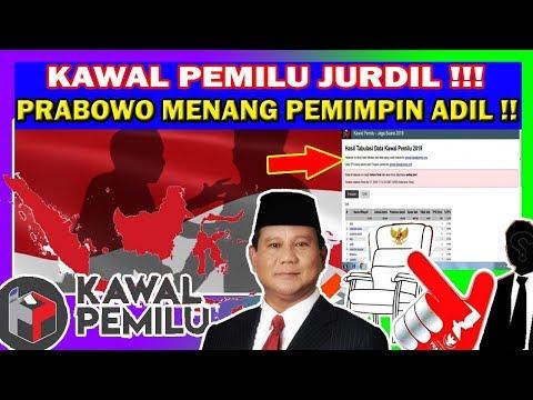 DATA KAWAL PEMILU : JOKOWI KALAH 49,7 % & SELENGKAPNYA  #INDONESIAADILMAKMUR !