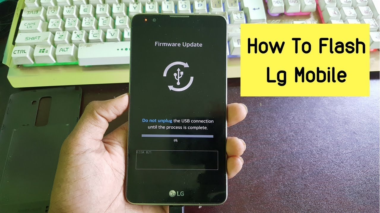 Lg Flashing Guide : How To Flash Lg Smartphone By Using Kdz Firmware