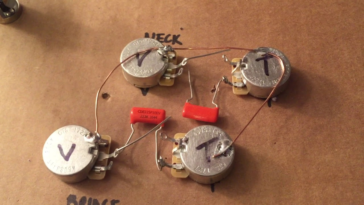 Epiphone Les Paul Circuit Rebuild 50s Wiring Youtube Vs Modern
