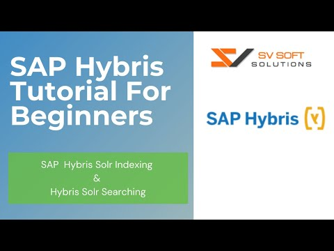 SAP Hybris Tutorial For Beginners | SAP  Hybris Solr Indexing & Hybris Solr Searching