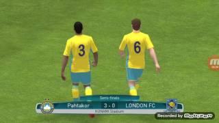 Pes 17 mobile Pahtakor vs London FC 2017 Video
