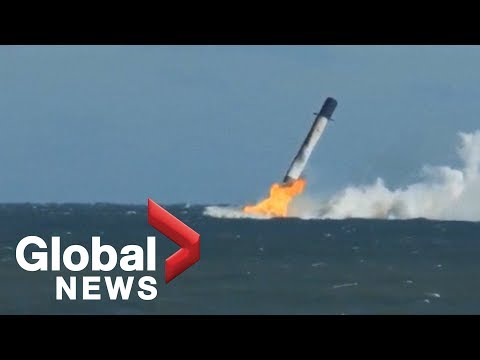 SpaceX crash: Elon Musk shares new video of Falcon 9's sea landing
