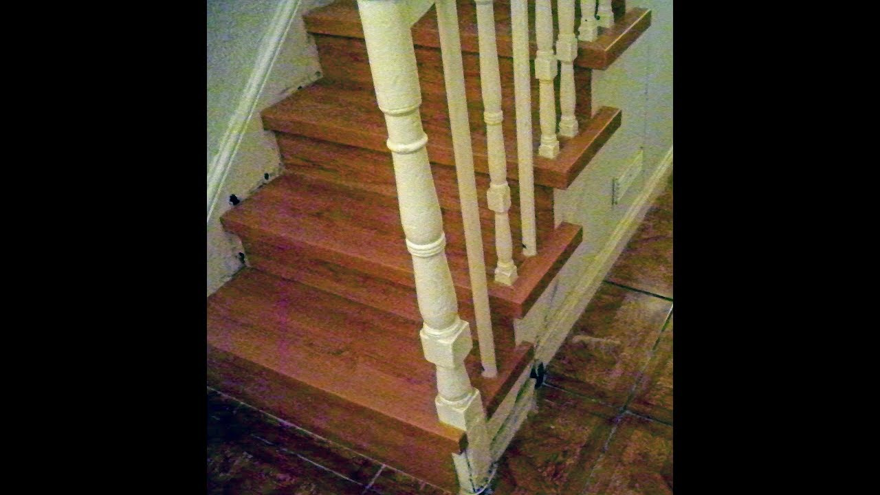 How To Install Laminate Flooring On Stairs Laminate Stairs