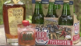 Ale-8-One Town Toast Cocktail