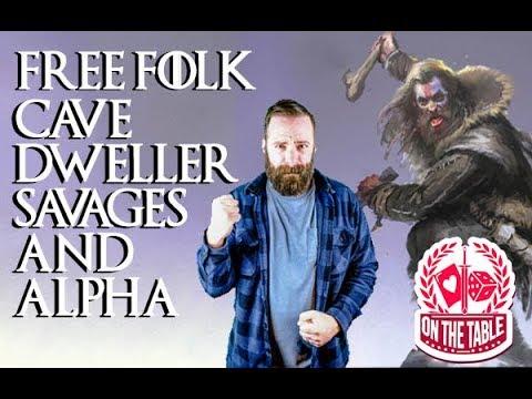 Free Folk Cave Dweller Savages and Cave Dweller Alpha for ASOIAF TMG
