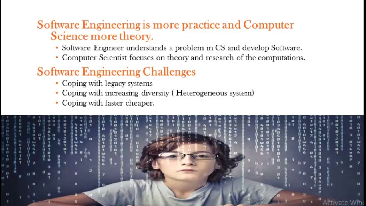 computer science vs software engineering - YouTube
