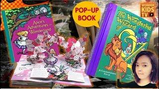 동화 속으로! 이상한 나라의 앨리스 vs 오즈의 마법사 l kids pop-up book l Alice's Adventures in Wonderland