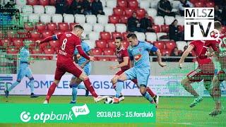 DVSC - Mol Vidi FC | 0-1 (0-1) | OTP Bank Liga | 15. forduló | 2018/2019