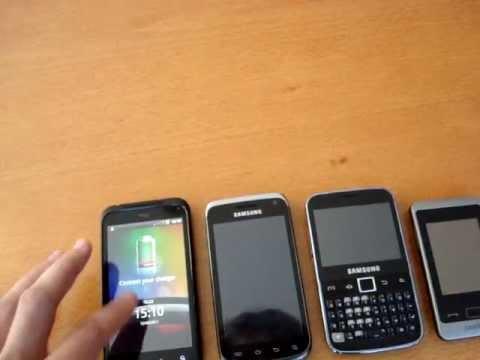 Mobili linija: Samsung Galaxy W, Galaxy Y Pro ir Trump