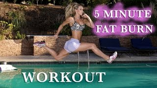 5 Minute Fat Burning Workout #81