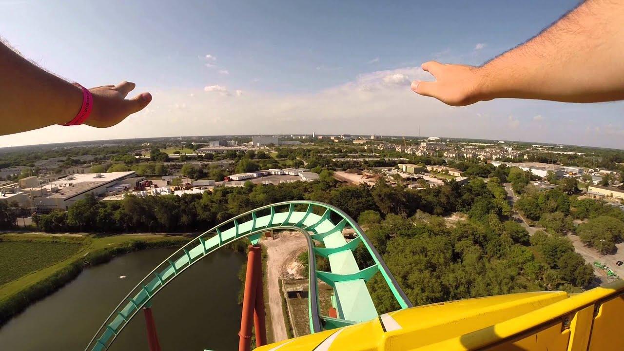 Kumba Ride - Busch Gardens - POV front row (GoPro Record) - YouTube