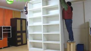 G-board Huge Bookcase Assembly Video