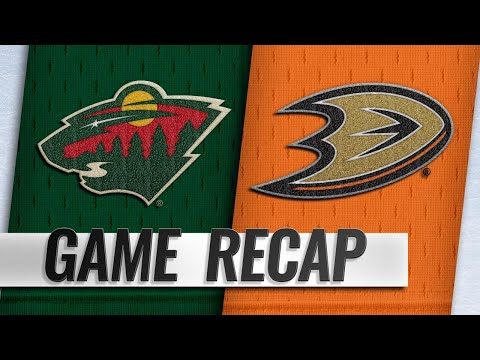 Granlund, Zucker power Wild to 5-1 win against Ducks
