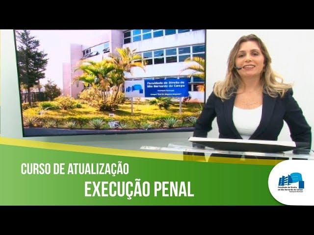 Professora Célia Nilander convida os estudantes para o Curso de Atualização em Execução Penal