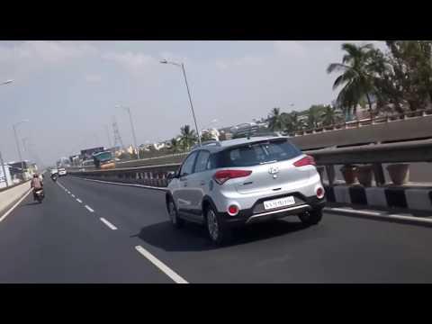 Bangalore Electronic City Flyover - Hosur Road Elevated Expressway