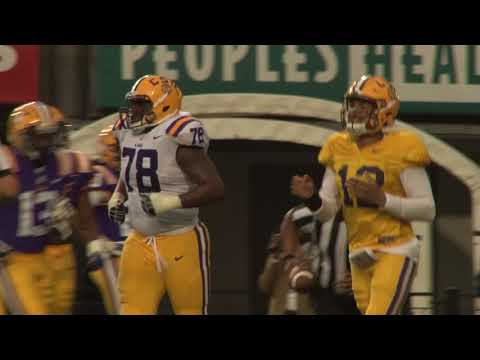 LSU's Spring Game proved the quarterback race is a close one