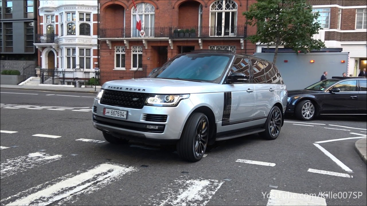 LOUD Arab Range Rover Vogue Supercharged Revs Amp Lovely