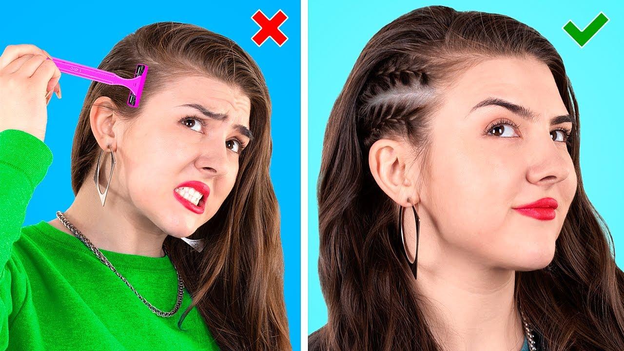 12 Fajnych Trików i Fryzur by Wyglądać Świetnie na Każdą Okazję