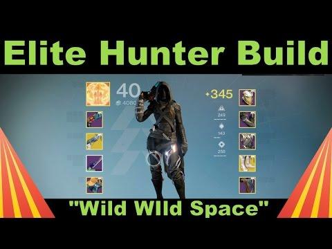 Destiny  Best Hunter Pve Build
