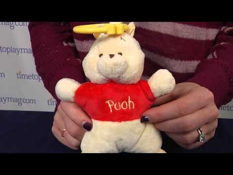 Disney Baby Winnie the Pooh Attachable Mini Plush Toy from Kids Preferred