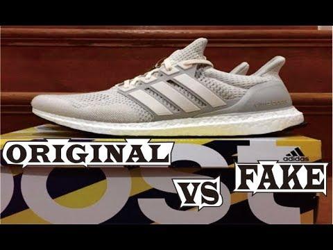 28040647e5e Difference Adidas Ultra Boost Ltd Cream Original & Fake